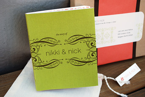 Smythe-sewn-letterpress-wedding-book