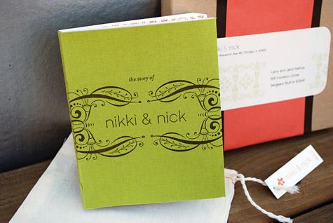 Smythe-sewn-letterpress-wedding-book
