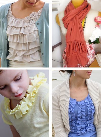 Fashion Tutorial on Diy Ruffle Tshirt Tutorials