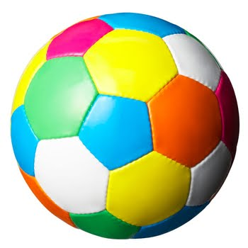 Color fustal ball