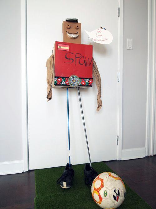 Spain mascot
