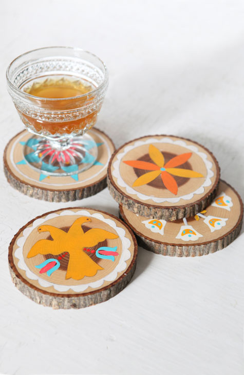 Design-sponge-wood-coaster