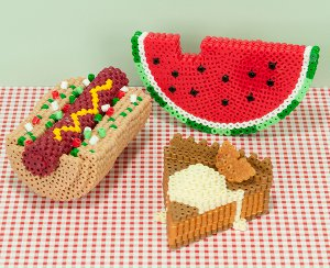 Picnic-food-perler-beads