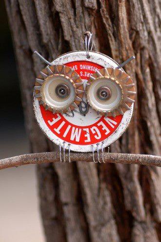 Owl-jar-lid