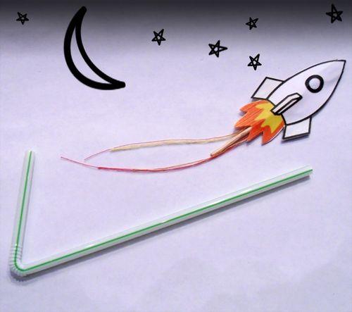 Straw-rocket-craft