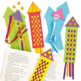 Rocket-bookmark