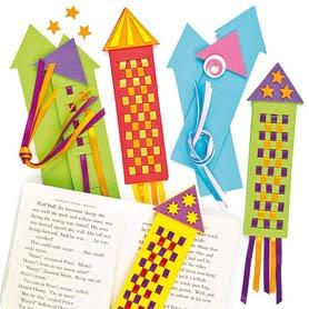 Rocket-bookmark