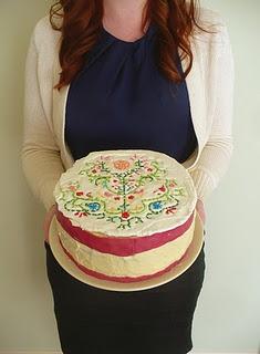 Needlepoint-cake