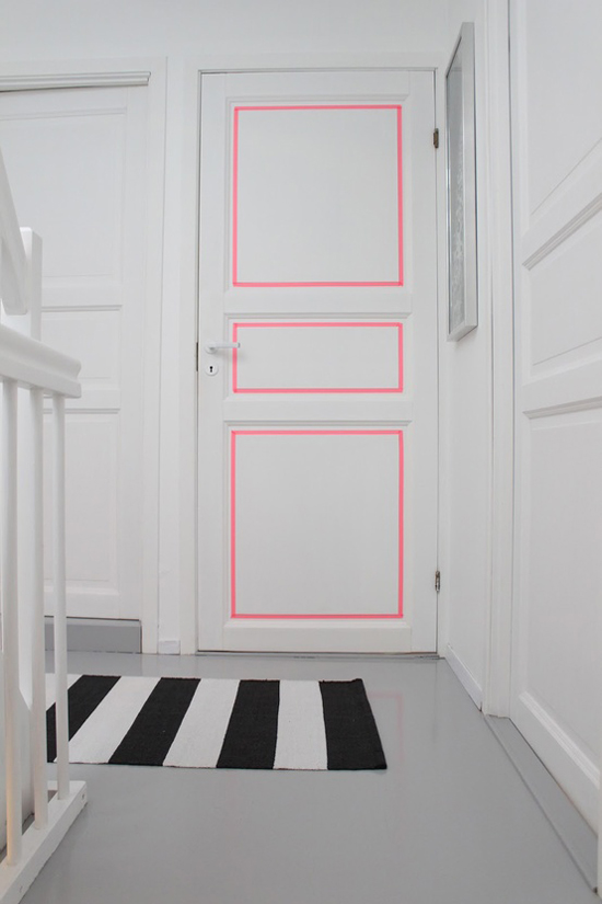 Washi-tape-door