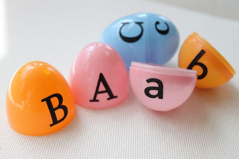 Egg-letters