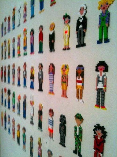 Perler-bead-people