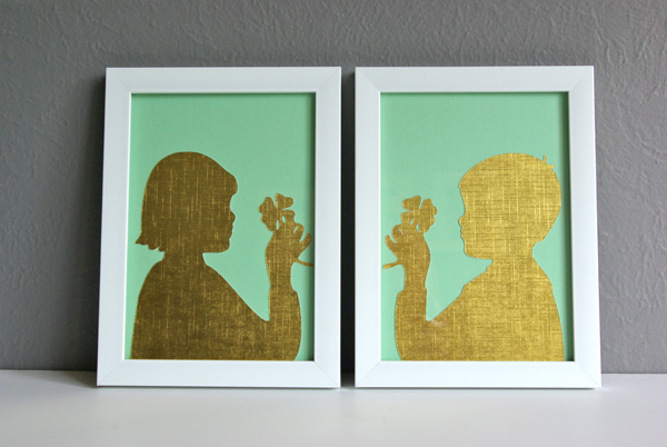 St. Paddy's Silhouette 6
