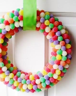 Gumdrop-wreath