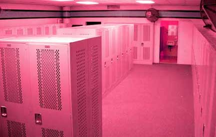 Pink-locker-room