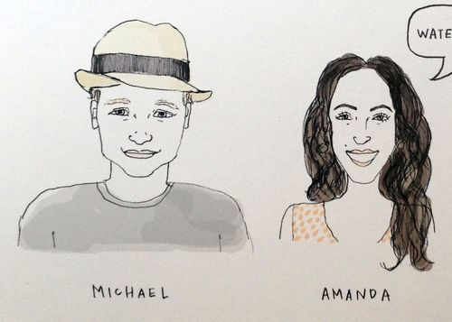 Michael-amanda-violethours