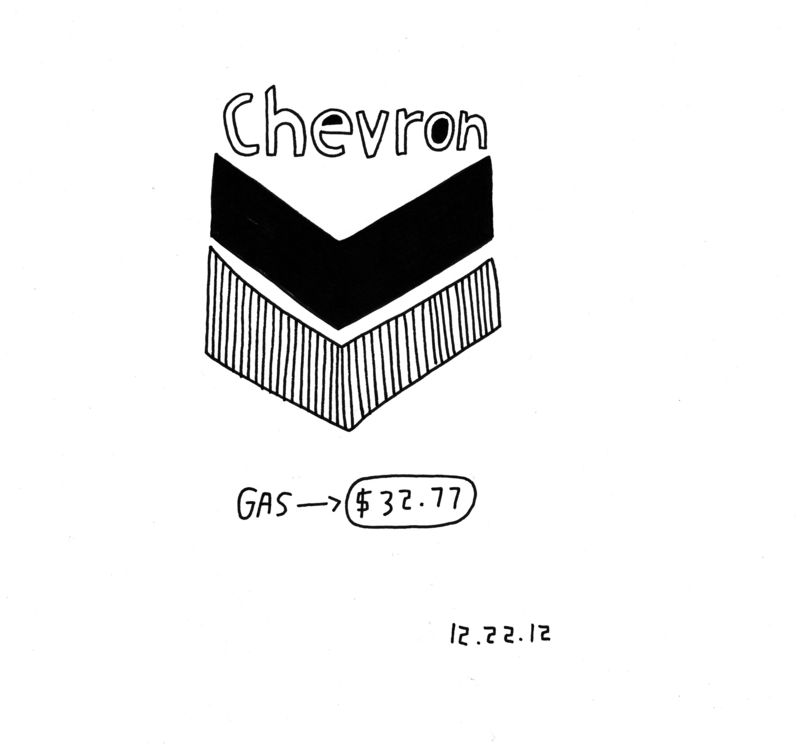 Chevron-drawing