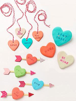 Clay-hearts
