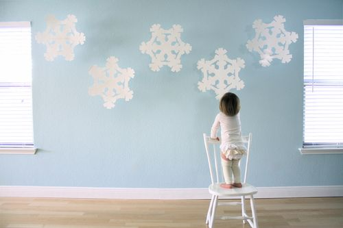 Poster-board-snowflake