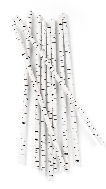 Birch-paper-straws