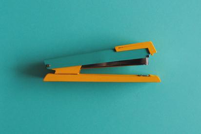 Painted-stapler