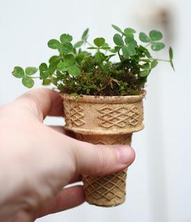 Ice-cream-cone-planter