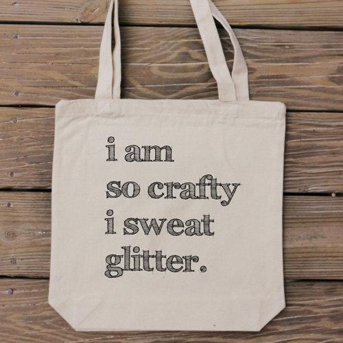Glitter-bag