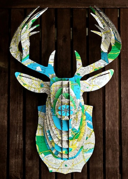 Map-deer-head