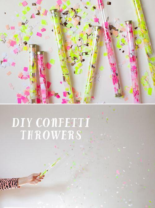 Confetti-thrower