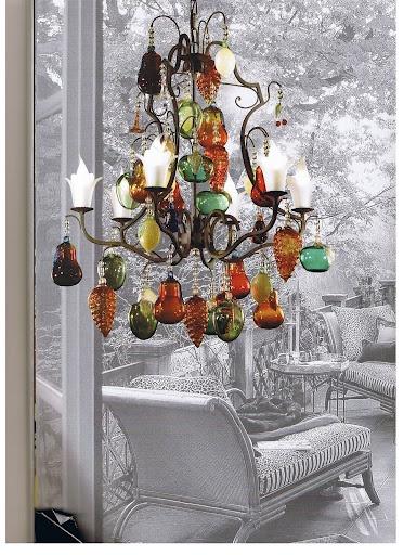 Fruit-chandelier