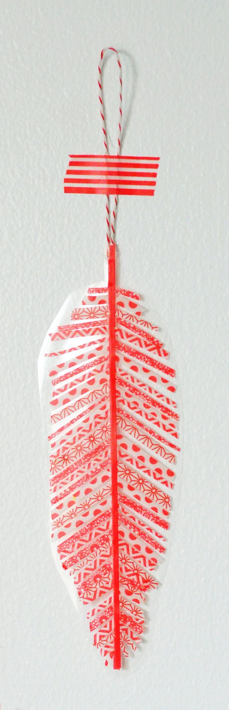 Washi-tape-ornament