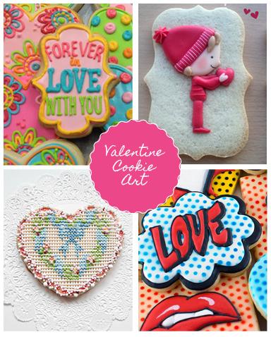 Valentine-cookie-art